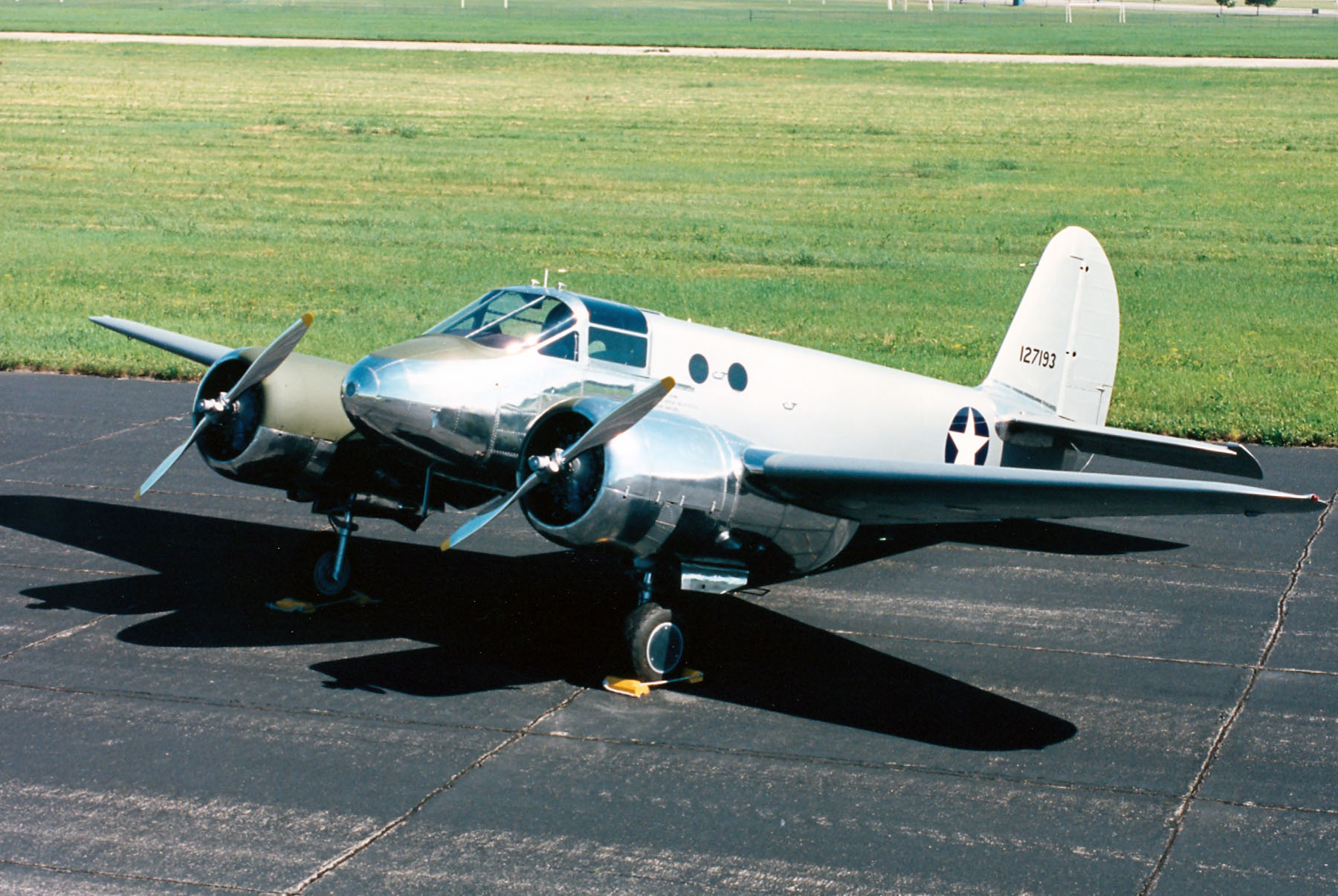 AT-10 Wichita 41-27193 at the National Museum of the United States Air Force. (U.S. Air Force photo)
