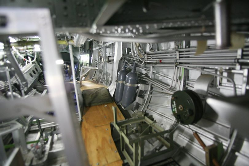 The B-24 restoration is progressing well, as anyone can see from this immaculate interior view. (photo via Phil Buckley)