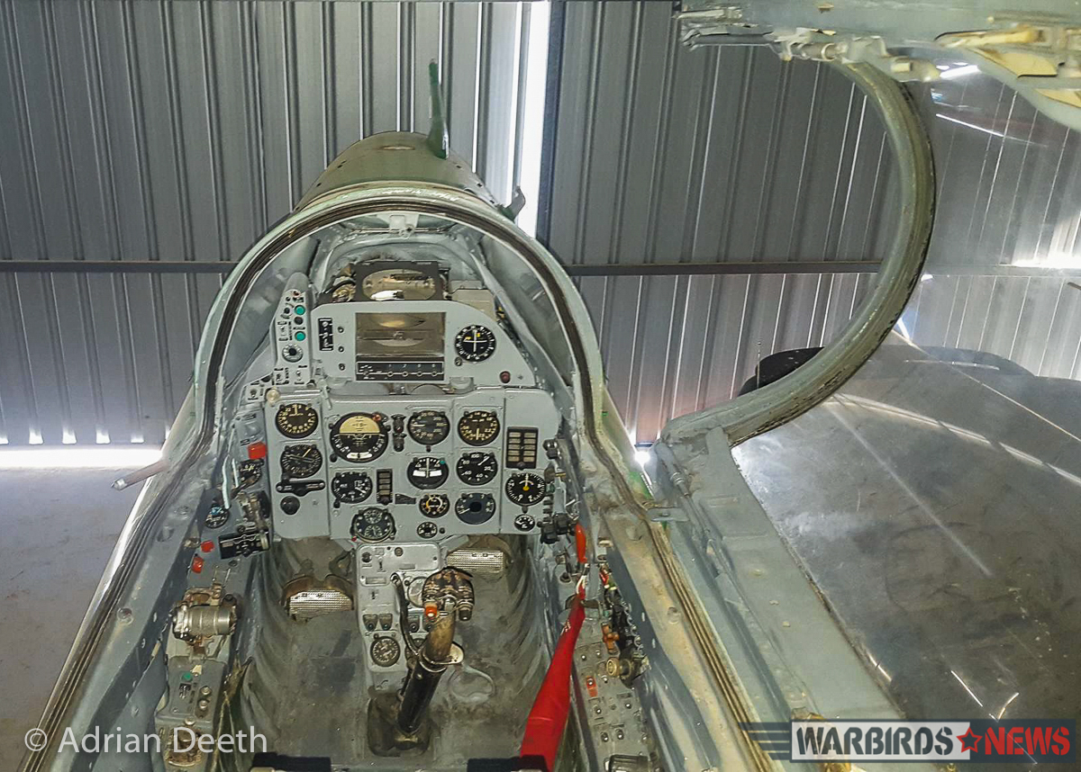 A view of the cockpit. (image by Adrian Deeth)