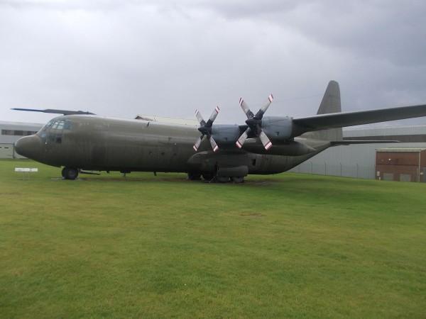 RAF Lockheed C-130K Hercules on display at RAF Museum in Cosford. (Image Credit: Ryan Kirk CC 3.0)