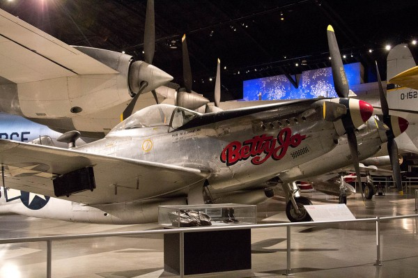 Wright-Patterson Air Force Base is home to two copies of the Twin Mustang. Betty Jo is one of them.