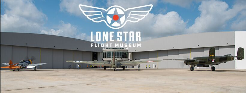 A view of Lone Star's brand new facility from the ramp side at Ellington Field. (photo via LSFM)