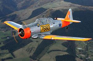 1941 Harvard/T-6 Texan starting at NZ $ 170,000.