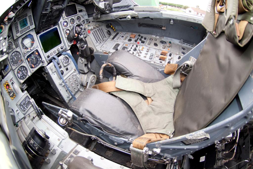1988 Tornado ADV cockpit