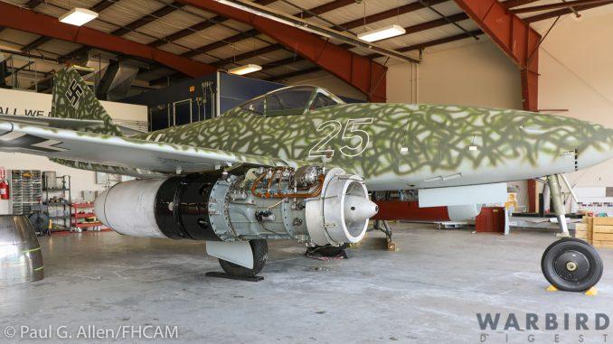 FHCAM's Me 262 Warpaint Unveiled