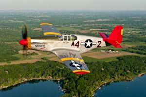 "P-51 ""Tuskege Airmen"" (Image Credit: MMax Haynes/ Wings Over Houston Airshow)"