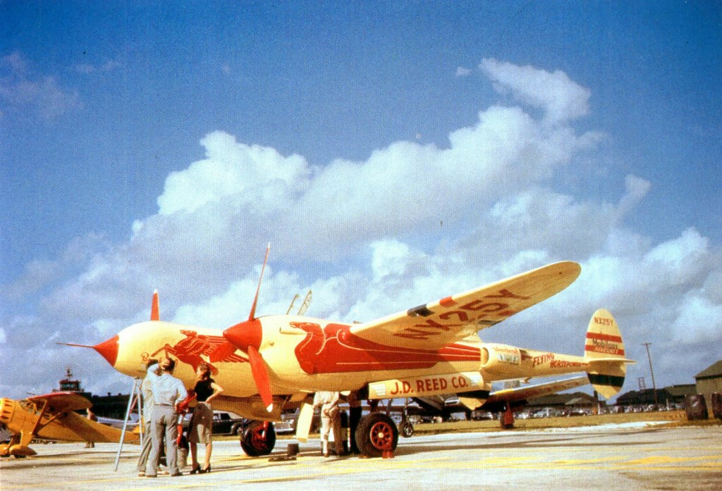 P-38 Air Racer NX25Y,later N25Y, early 1947