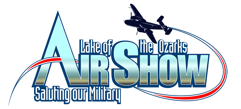 2013 Lake of the Ozarks Air Show logo.