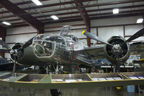 The restoration began in November, 2003 , then the plane was moved from the Restoration Hangar to the Military Hangar where the restoration was completed.