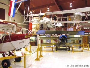 Pearson Air Museum exhibits