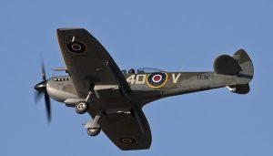 Supermarine Spitfire XVI TE311 captured in November 2012 by Gaz West.