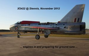 Engines in and preparing for ground runs.