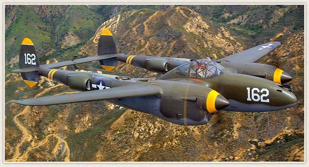 The P-38 was used most successfully in the Pacific Theater of Operations and the China-Burma-India Theater of Operations