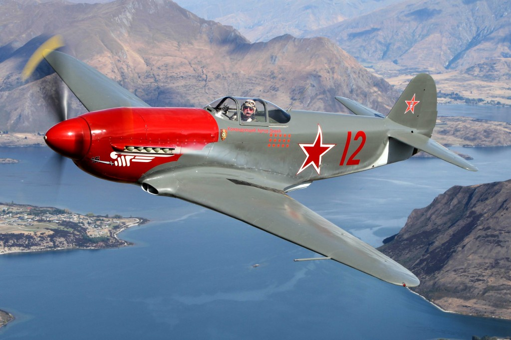 This particular aircraft is one of only a handful in the world which has been converted from a Yak-11 to a Yak-3. (Photo: Gavin Conroy)