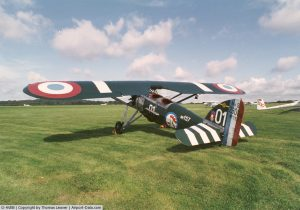 Morane-Saulnier MS.230 awaits a new owner. (photo credit: Thomas Leaver)