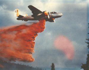 8Z fighting fires in Alaska (Photo credit: Sandbar Mitchell.org)
