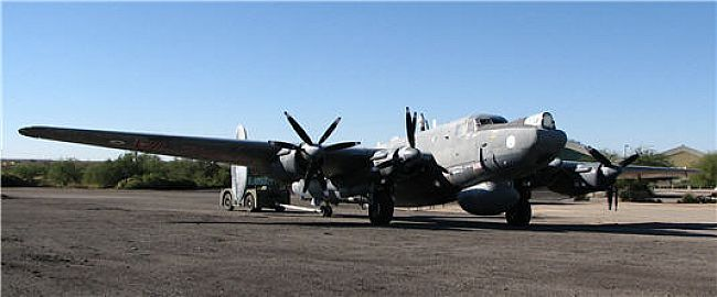 Pima's Avro AEW.2 Shackleton prior to its recent restoration (Photo credit: Pima Air and Space Museum)
