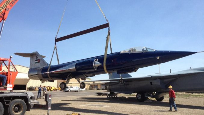 cd47c68fc967 Warhawk Air Museum Takes Delivery of F-104 Starfighter