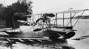 """Donnet-Lévègue """"Flygfisken""""  in 1913."""