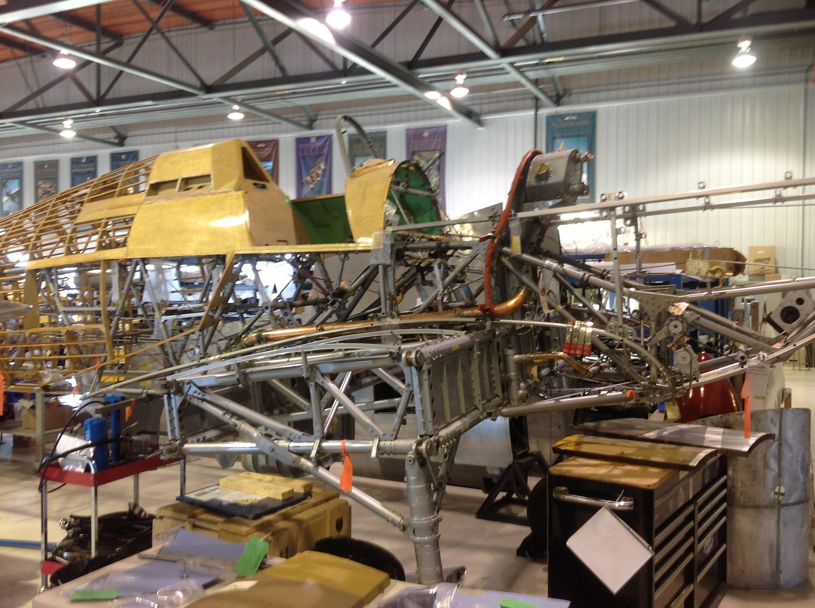 Hawker Hurricane Restoration Progresses In Quebec Warbirds News