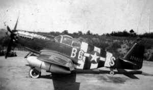 """The original """"Old Crow"""" flown by WWII """"Ace"""" Clarence E. 'Bud' Anderson, loaded for bear."""
