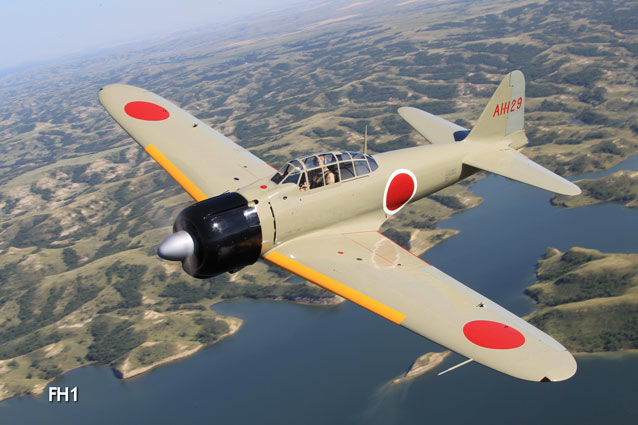 A6M2-Model 21 Zero, Last Samurai  (Image credit:Texas Flying Legends Museum)