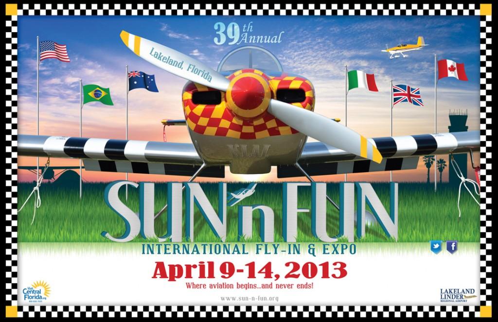 SUN 'n FUN 2013 Event Poster