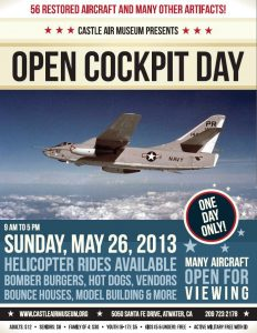 Castle Air Museum Open Cockpit Day May 2013
