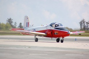 Jet Provost T.5A lands at Classic Air Force Museum (Image Credit : Classic Air Force Museum)