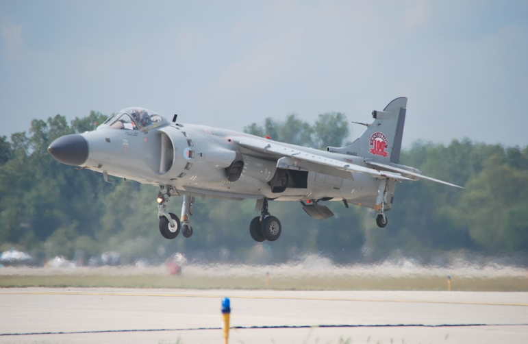 BAE Sea Harrier F/A2 (Image Credit: Nalls Aviation)