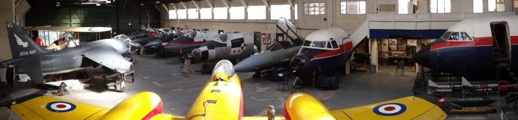 Collection of aircraft and cockpits on display at BDAC (Image Credit : BDAC)