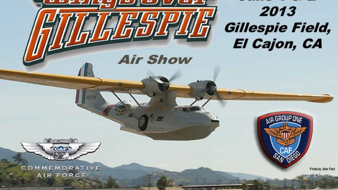 CAF Air Group One – 2013 Wings Over Gillespie Air Show