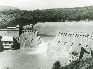 Eder Dam the day after the raid.