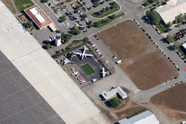 Chico Air Museum, currently a primarily outdoor venue. (image credit: Google)
