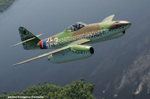 ME-262 airborne (Friday) (Image Credit: Luigino Caliaro / Aerophoto)