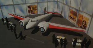 Artist's rendering of the new exhibit. (Image Credit: The Museum of Flight)