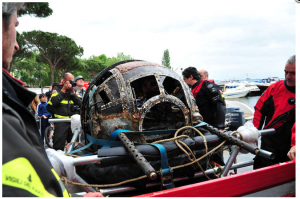 Turret to be displayed at Bolsena Town Museum (Image Credit: Scuola sub di Bolsena)