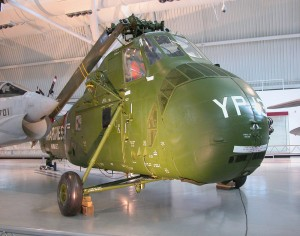 Sikorsky UH-34D Seahorse in too-immaculate condition. (Image Credit: Smithsonian Institution)