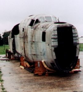Sorry state of fuselage in 1995 (Image Credit: B-24 Liberator Restoration Australia)