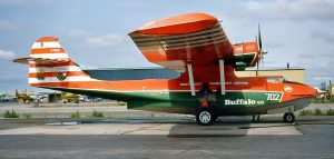 Canso PBY-5A C-FNJE while in service with Buffalo Airways. (Image Credit: Michael Prophet)