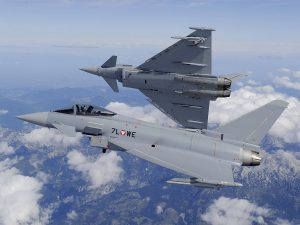 Was this flight really necessary? Couldn't they at least have plane-pooled? (Image Credit: Austrian Air Force)