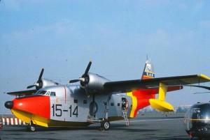 AMI Grumman HU-16 Albatross 15-14 during it's years in Italian military service.