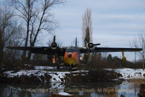 AMI Grumman HU-16 Albatross 15-14 rotting in place at the museum. (Image Credit: Claudio Toselli)