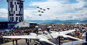 290,000 people destroying the earth at Airpower11 (Image credit: Airpower)