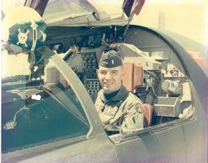 Arnie Franklin in the unmistakable gull-winged cockpit of an F-111 (Image Credit: Aviation Heritage Museum)