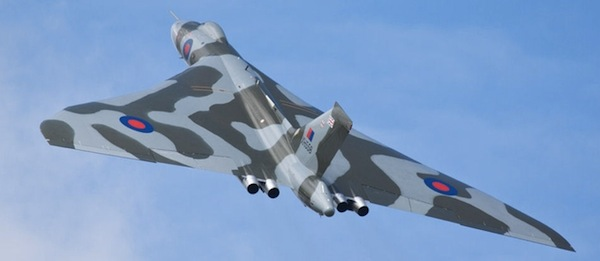 "Avro Vulcan XH558 ""The Spirit of Great Britain"" will once again be able to soar above the clouds, enhancing both it's fuel economy and airframe longevity. (Image Credit: Vulcan to the Sky Trust)"