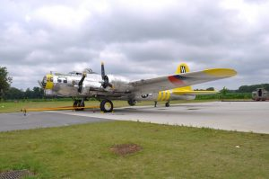 "MAM's B-17G Flying Fortress ""Chuckie"" sold via Platinum Fighter Sales to an undisclosed buyer in Oregon. (Image Credit: MAM / PFS)"