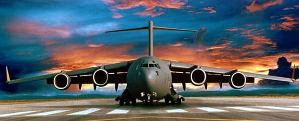 USAF Boeing C-17 Globemaster's imposing presence is popular with producers of summer blockbusters (Image Credit: Boeing)