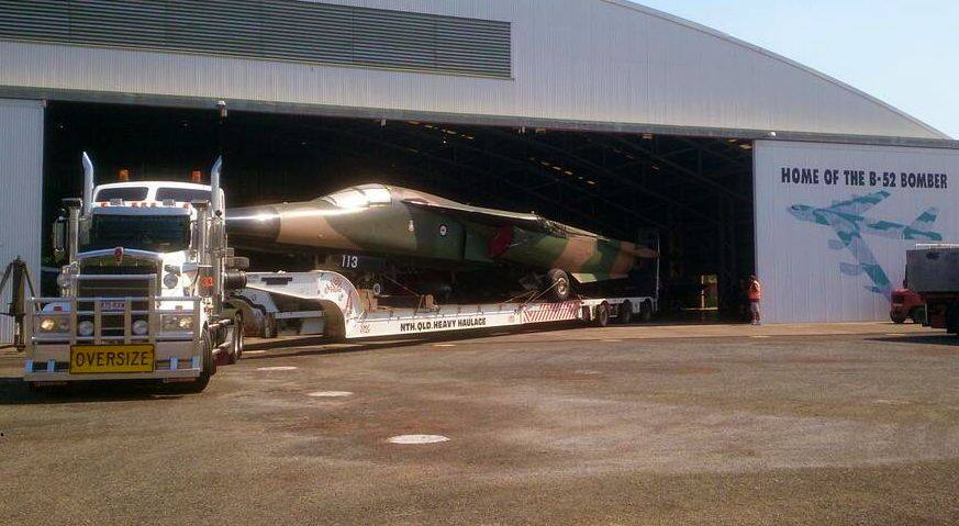F-111C A8-113 Darwin