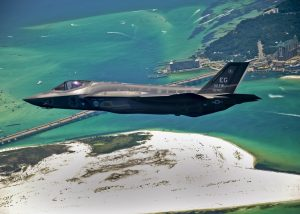 "Lockheed Martin F-35 Lightning II, a compelling ""actor"" for an action movie"